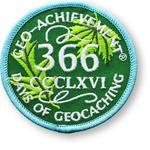 Patch 366 Days Geo-Achievement