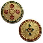 Four Musketeers Very Merry Geocoin