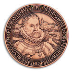 Rudolf II. Geocoin - Antique Copper