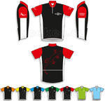 Trackable cycling jersey - geocaching nick