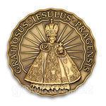 Jesulus Pragensis - Prague Geocoin 2012 - Antique Bronze