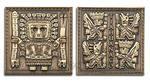 Tiahuanaco - Gateway of the Sun Geocoin - Antique Gold