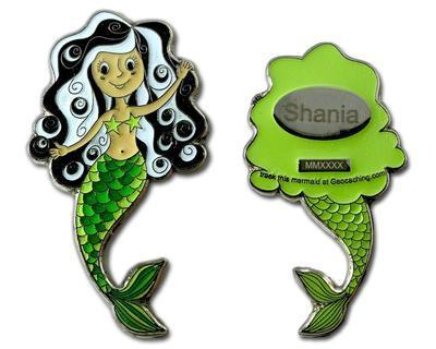 Mermaid Geocoin - Shania