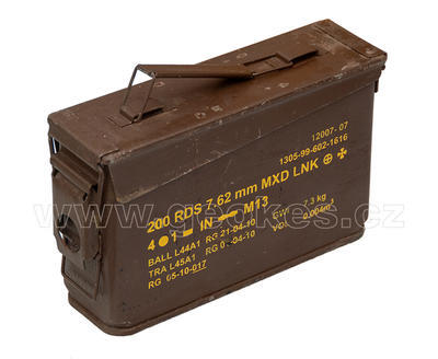 Ammobox 30 brown