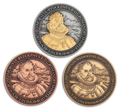 Rudolf II. Geocoin - Limited Edition Set - 1