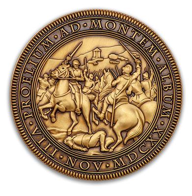 Bitva na Bile hore 1620-2020 - Antique Bronze - 1