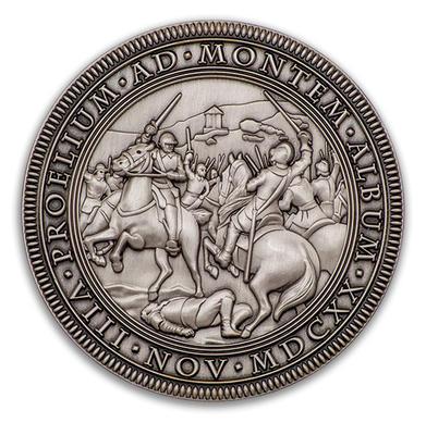 Bitva na Bile hore 1620-2020 - Antique Silver - 1
