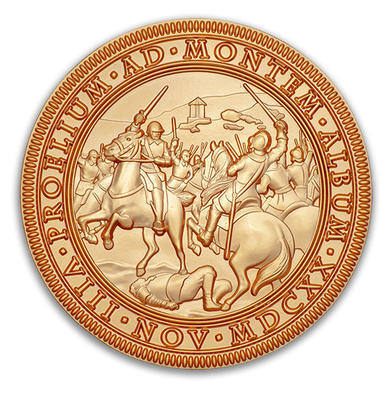 Bitva na Bile hore 1620-2020 - Satin Gold LE - 1