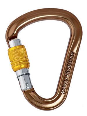Carabiner Singing Rock OZONE, twist lock