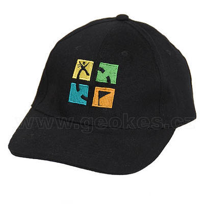 Geocaching cap - black