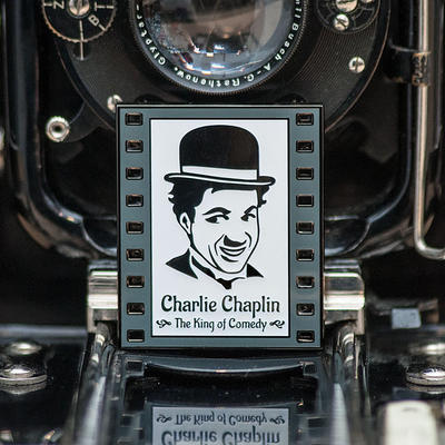 Charlie Chaplin - The King of Comedy Geocoin - 1
