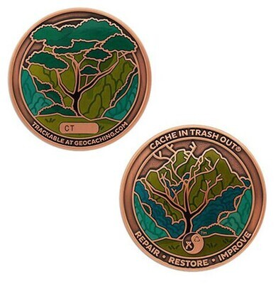 2021 CITO Geocoin / Tag Set - 1