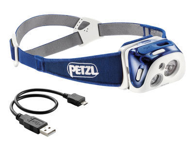 Petzl Reactik Headlamp, blue