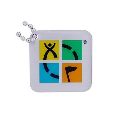 Geocaching Logo Travel Tag - Four Color