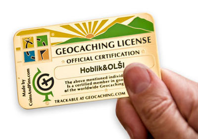 Geocaching License - 1
