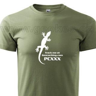 Gecko trackable t-shirt - 1