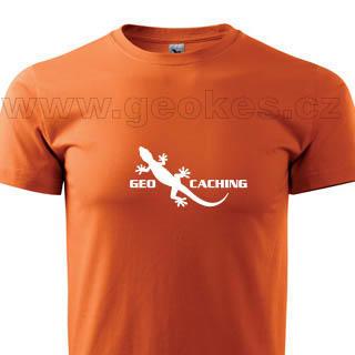 Geocaching gecko t-shirt - 1