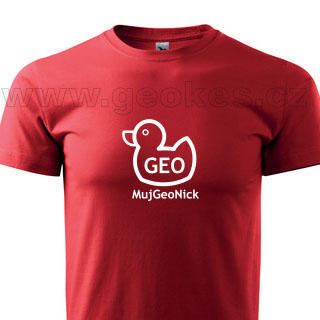 Geo duck tshirt - nick - 1