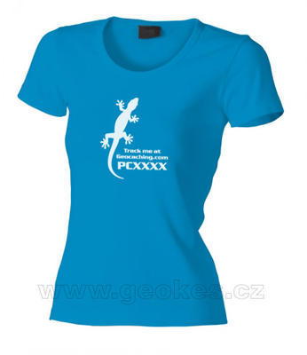 Ladies Gecko trackable t-shirt - 1