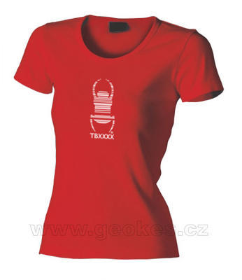 Ladies Travel Bug t-shirt - 1