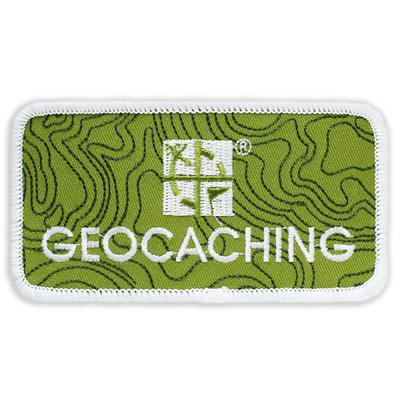 Full Color Geocaching Logo Patch