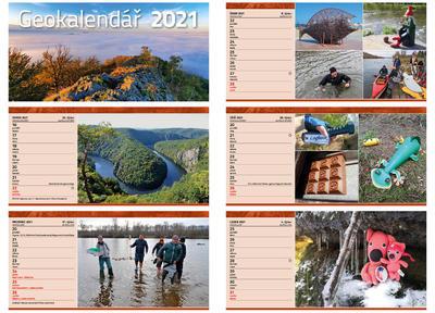 Geocaching calendar 2020