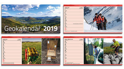 Geocaching calendar 2019