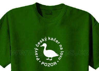 Czech geocacher t-shirt - 1