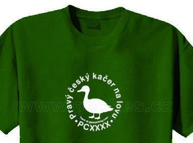 Czech geocacher trackable t-shirt - 1