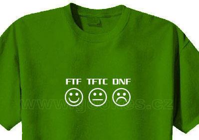 FTF-TFTC-DNF t-shirt - 1