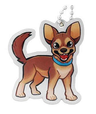 Geopets Travel Tag - Mani the Chihuahua