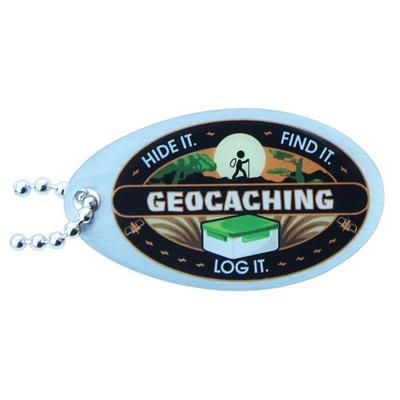 Hide It, Find It, Log It - Travel tag
