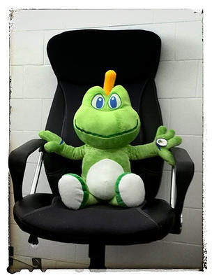 Signal the frog Plush XL - 1