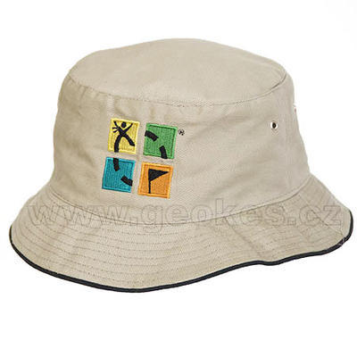 Geocaching hat - khaki