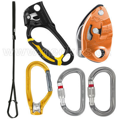 Rope Ascending and Descending Kit - BASIC Petzl