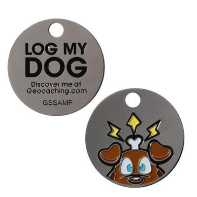 Log My Dog - Travel tag