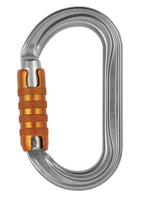 Petzl OK carabiner, Triact-lock