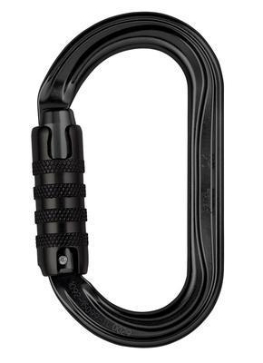 Petzl OK carabiner, Triact-lock BLACK