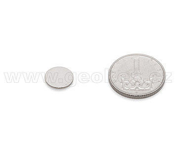 Magnet neodymium disc 10x1 mm