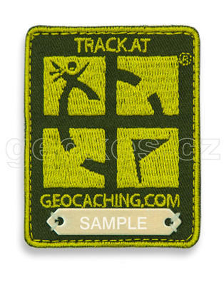 Trackable Geocaching Patch - Green