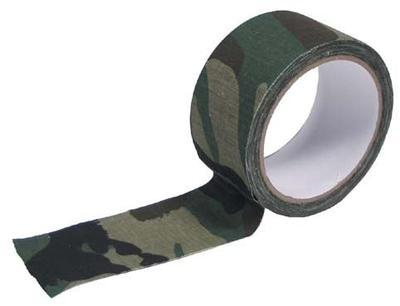 Camo Tape Adhesive - Woodland