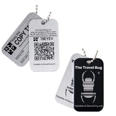 Travel Bug QR - Black