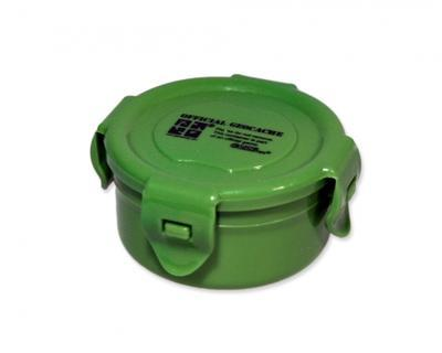 Container round green 120 ml - 1