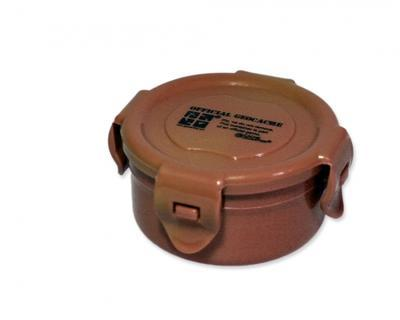 Container round brown 120 ml - 1