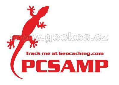 Large trackable decal - red gecko