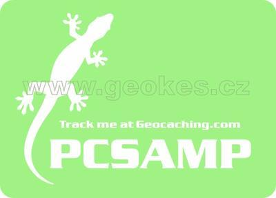 Large trackable decal - white gecko