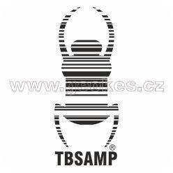 Travel Bug - decal black 17 cm