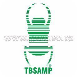 Travel Bug - decal green 17 cm