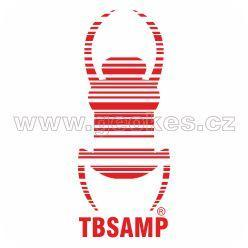 Travel Bug - decal red 17 cm