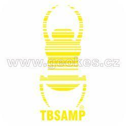Travel Bug - decal yellow 17 cm